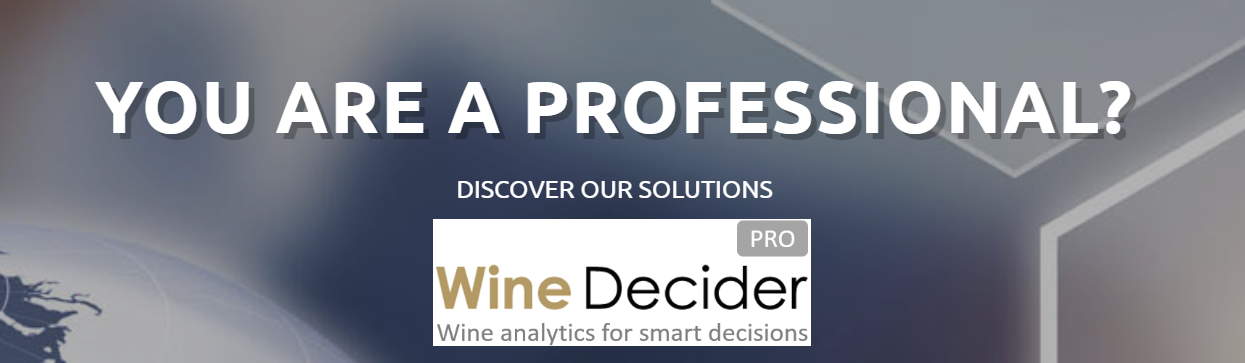 Wine Decider Pro, PROFESSIONAL DATA AND SERVICES FOR THE FINE WINE MARKET